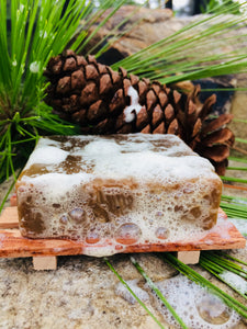 Pine Tar Soap for KP Bumps, Psoriasis, Eczema, + Bug Bites