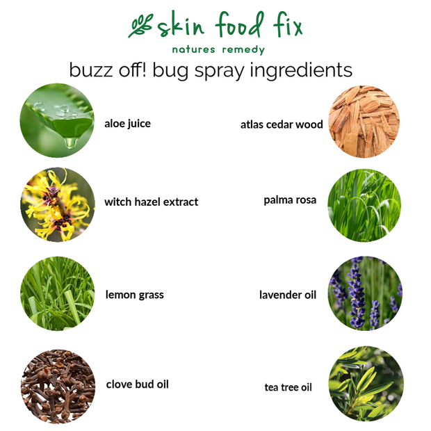 Bug Spray - Safe natural