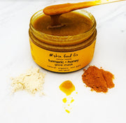 Turmeric and Manuka Honey Mask