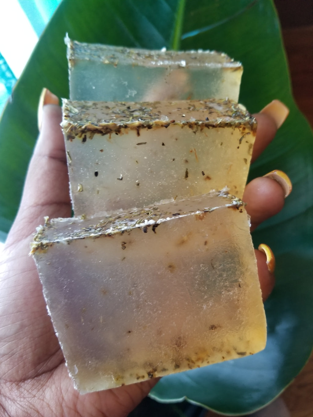 Aloe and lemon balm soap