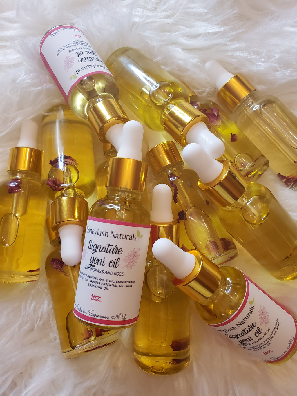 Rose n lemongrass Yoni oil