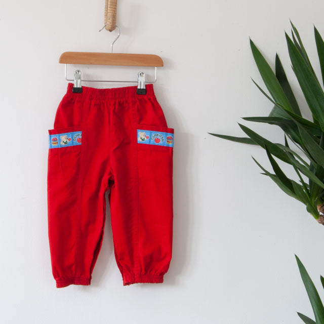 Vintage Bear Trousers ~ 18M