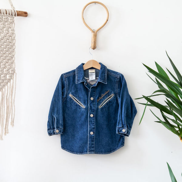 Denim Shirt ~ 2Y