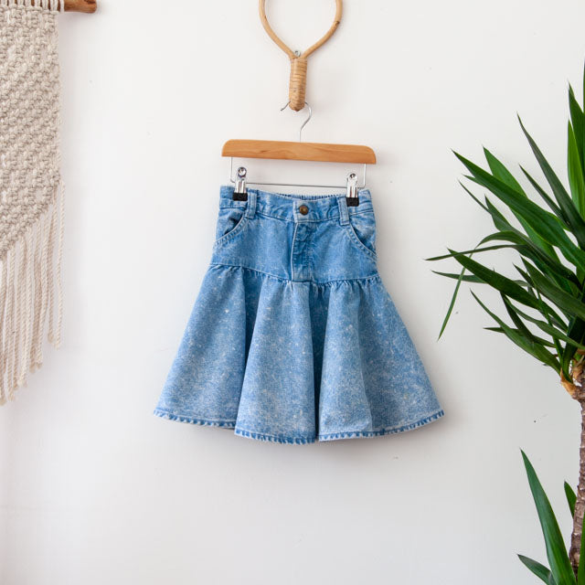 Vintage Denim Skirt | 5Y