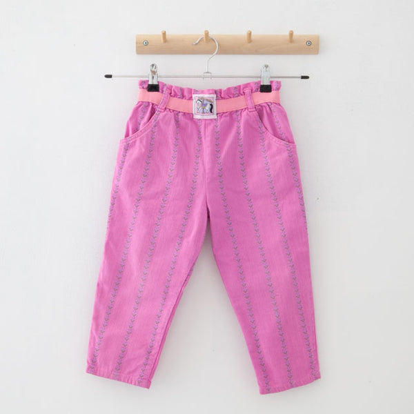 Vintage Cheque Trousers | 4Y