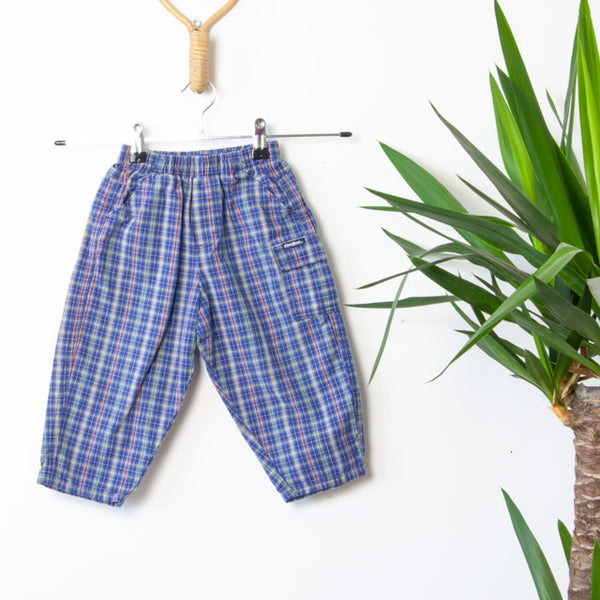 Vintage Plaid Trousers | 2Y