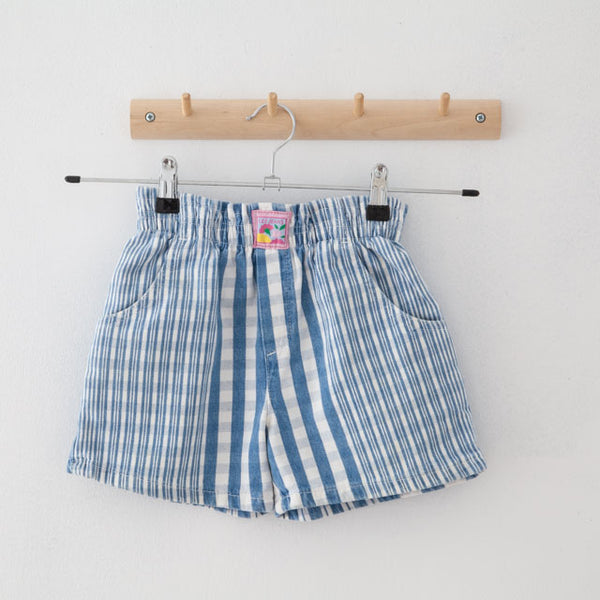 Vintage Striped Shorts | 4Y
