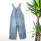 Vintage Striped Dungarees | 4Y
