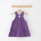 Striped Pinafore Dress | 18M