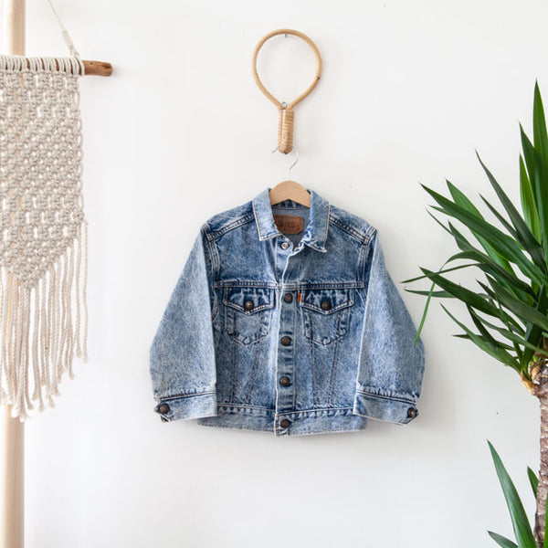 Vintage Denim Jacket | 6Y