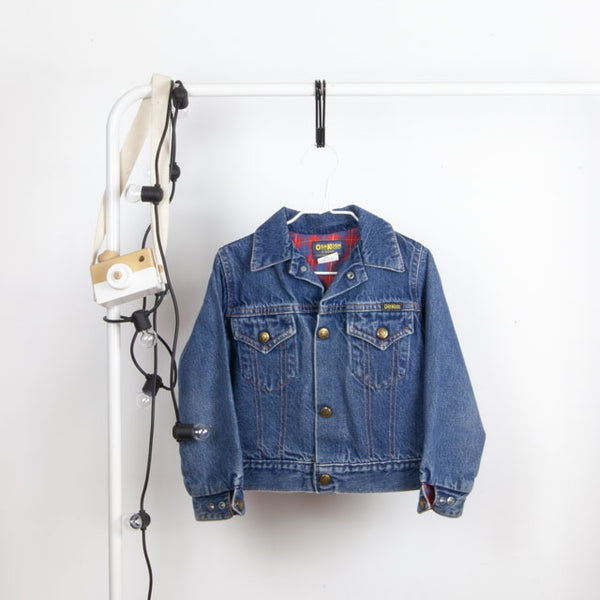 Vintage Denim Jacket | 3-4Y
