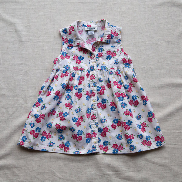 Floral Shirt Dress | 2 Years
