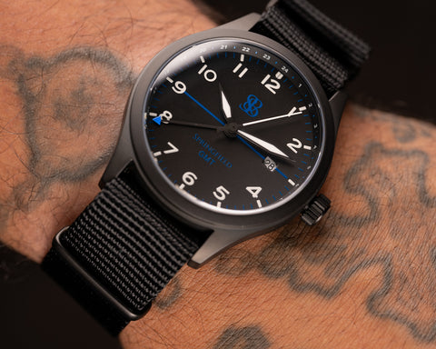 Limited Edition Springfield GMT Watch by S&B Watches