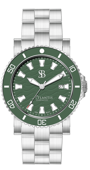 Atlantis® A2 Ceramic Quartz Watch