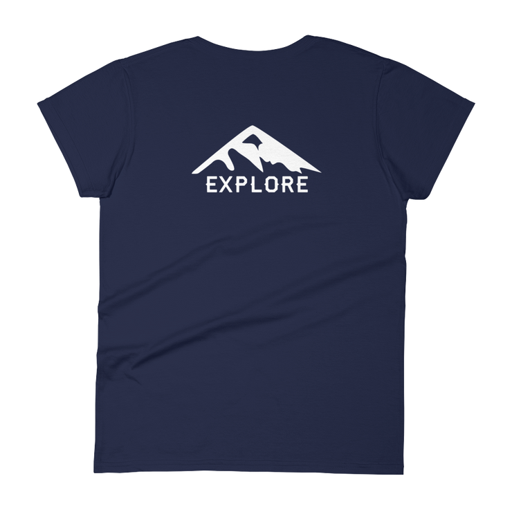 Explore - Women's short sleeve t-shirt