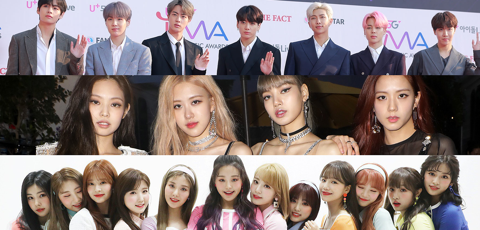 Check out the reputation rankings of April's K-Pop bands
