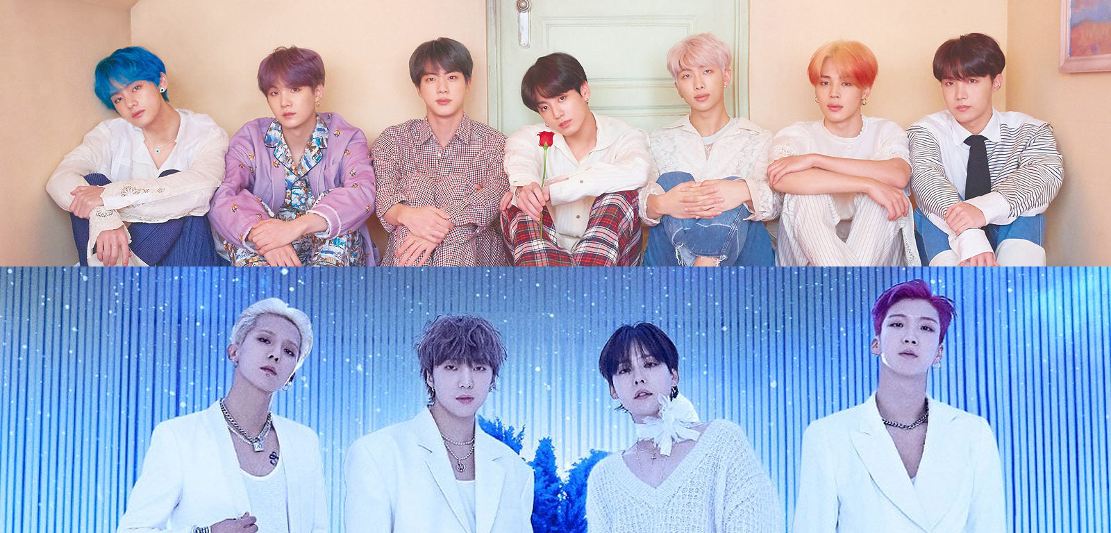 The most downloaded Kpop male band songs in 2019?