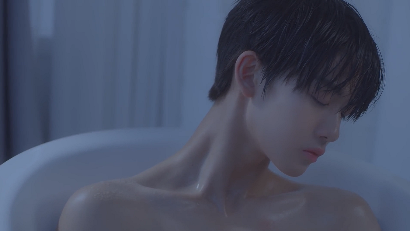 "BAE JIN YOUNG makes his solo debut with the MV of ""Hard To Say Goodbye"""