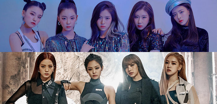 The most downloaded Kpop female band songs in 2019