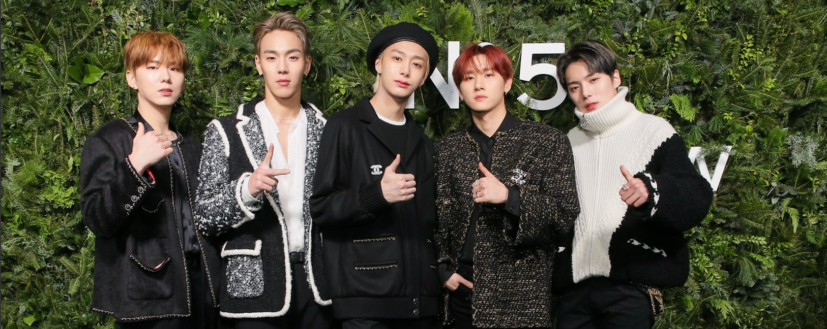MONSTA X performed at the 'CHANEL No. 5 In The Snow' evening in New York - Kpopshop