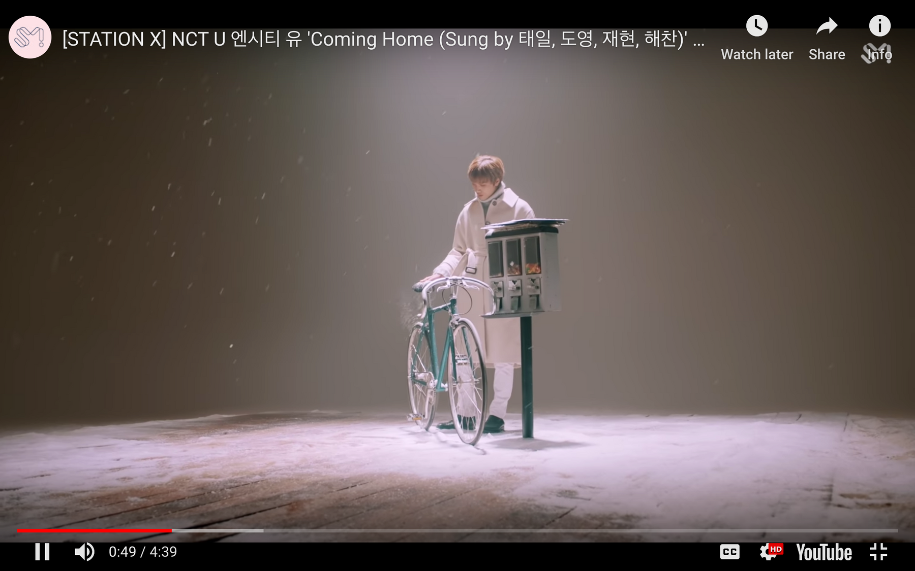 "NCT U unveils the MV of ""Coming Home"" - Kpopshop"
