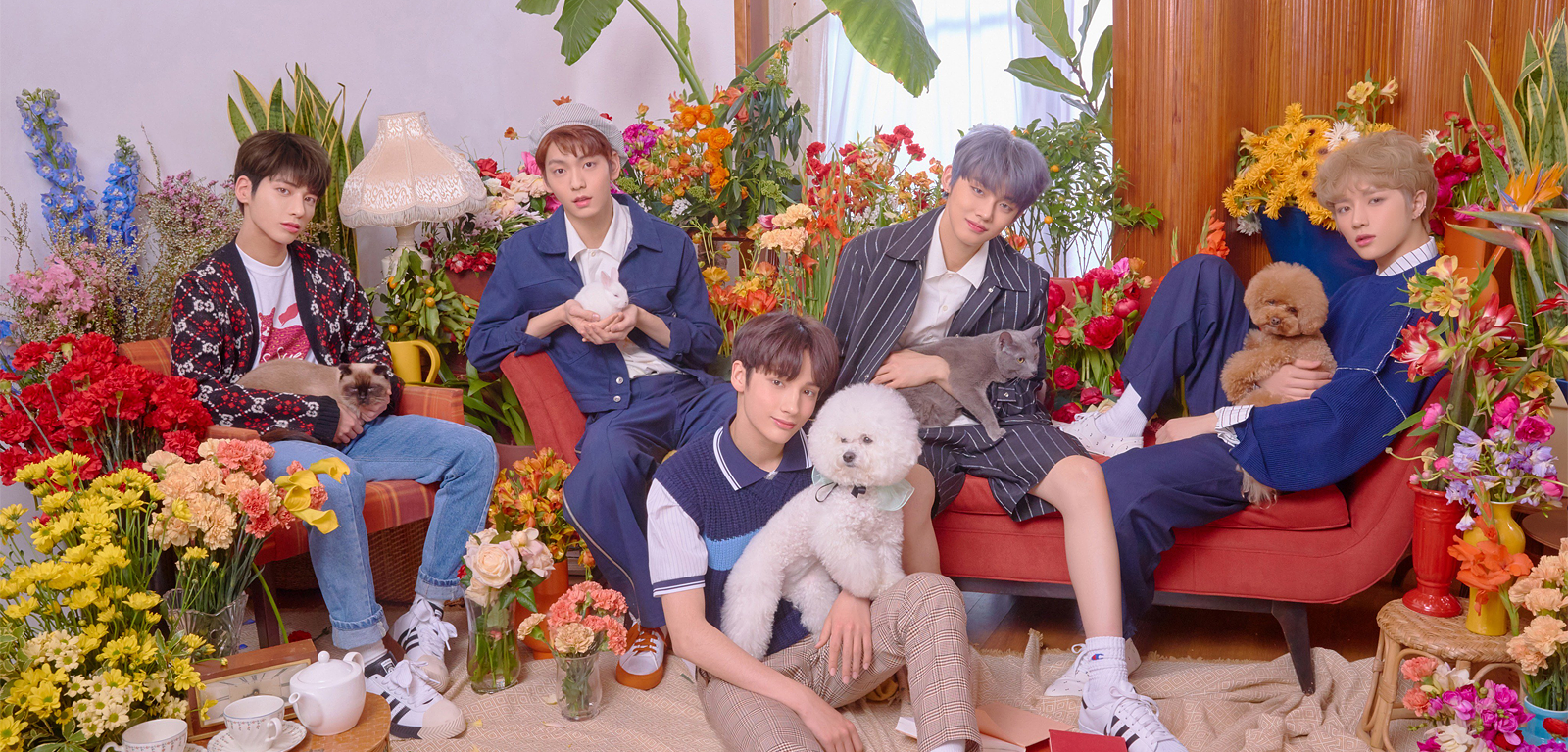 "TXT uploads teasers for ""Cat & Dog"""