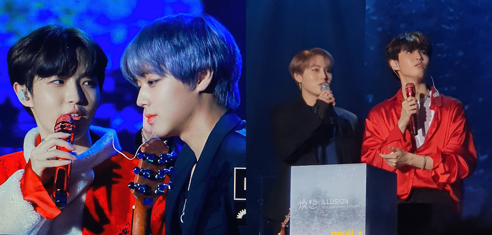 Wanna One: PARK JIHOON and HA SUNG WOON went on stage with KIM JAE HWAN during his first solo concert