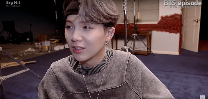 "SUGA (BTS) takes you behind the scenes of ""Shadow"""