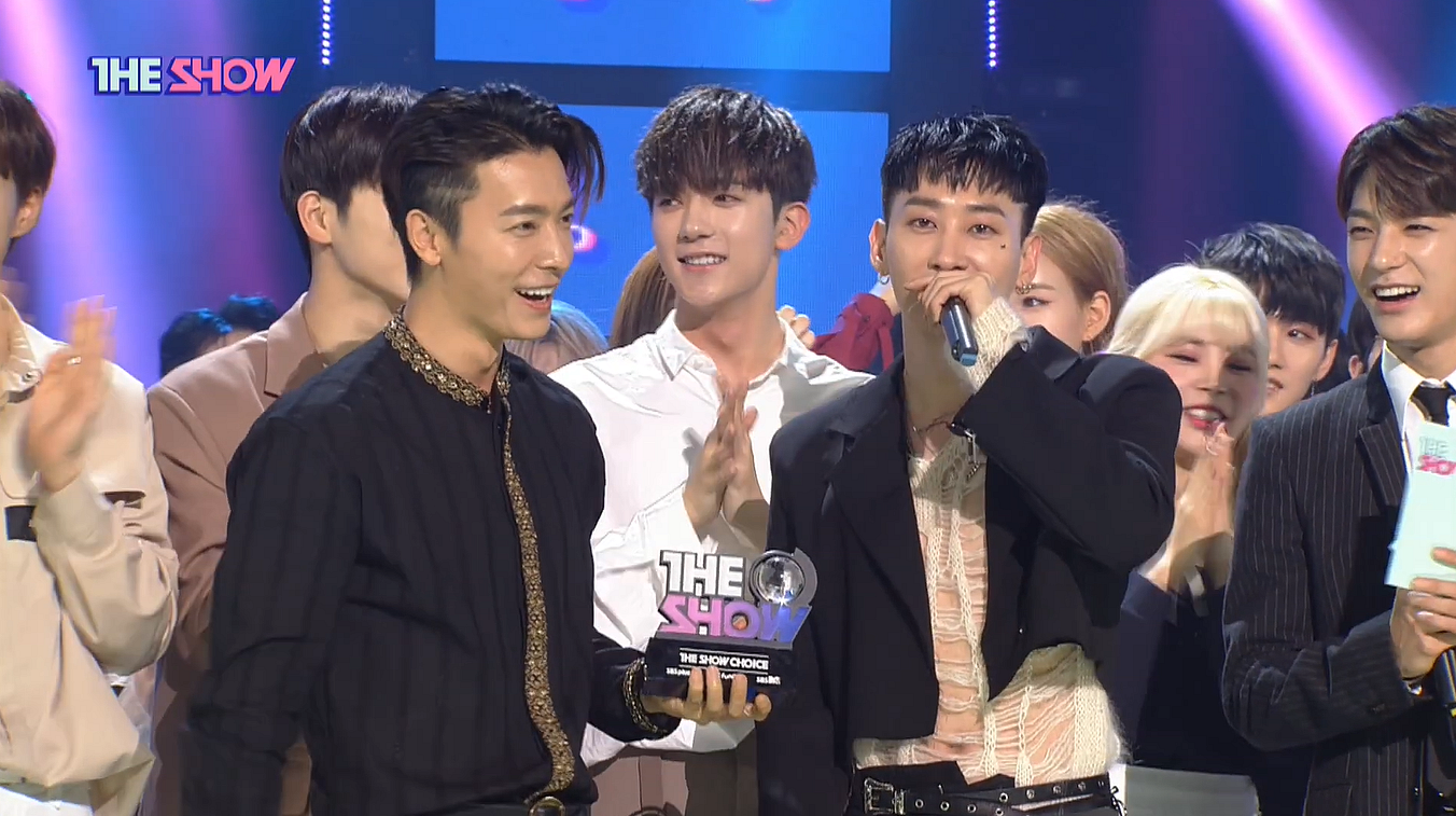 "SUPER JUNIOR D & E win their first trophy with ""Danger"" in a musical show at The Show of 23.04.19"