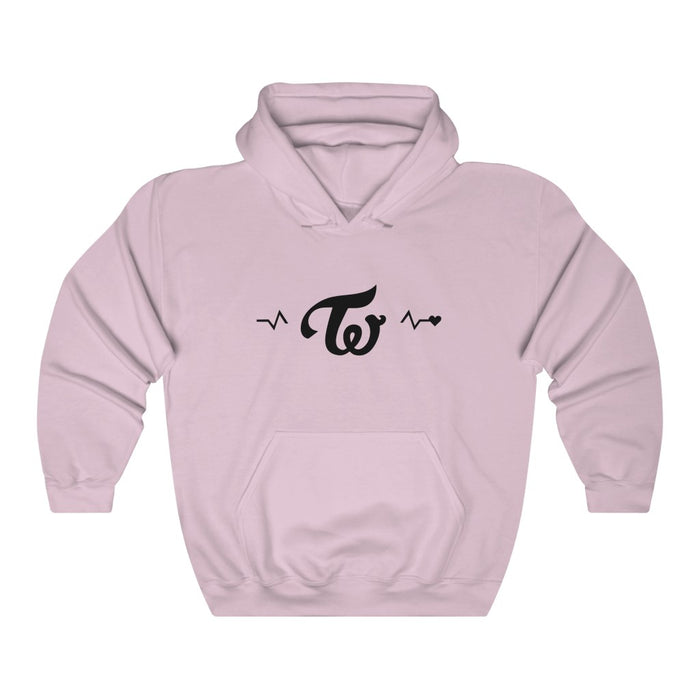 Twice Heart To Love Hoodie - Twice Hoodies - New Twice Pullover Hoodie