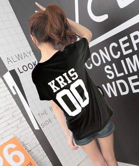Kpop Newest 2016 Summer Exo Letter Print T Shirt Women Harajuku O-neck Short Sleeve tshirt women Tops Black White Tee Shirt Femme that you'll fall in love with. At an affordable price at KPOPSHOP, We sell a variety of 2016 Summer Exo Letter Print T Shirt Women Harajuku O-neck Short Sleeve tshirt women Tops Black White Tee Shirt Femme with Free Shipping.