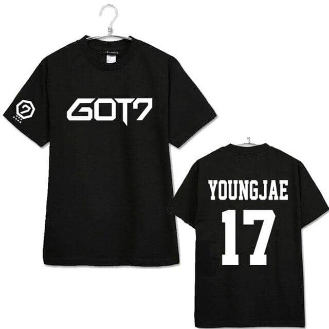 Kpop Newest 201Summer coat men women GOT7 KPOP Cotton Korean version Letter printing black red Loose Short sleeve Round neck T-shirt Lovers that you'll fall in love with. At an affordable price at KPOPSHOP, We sell a variety of 201Summer coat men women GOT7 KPOP Cotton Korean version Letter printing black red Loose Short sleeve Round neck T-shirt Lovers with Free Shipping.