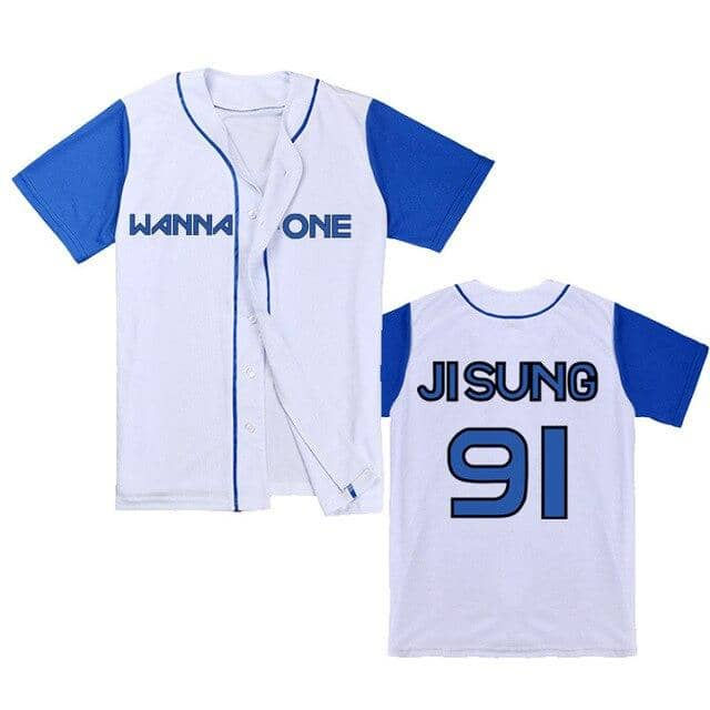 Kpop Newest 201new kpop WANNE ONE concert The same paragraph baseball cardigan short-sleeved T-shirt Loose men and women that you'll fall in love with. At an affordable price at KPOPSHOP, We sell a variety of 201new kpop WANNE ONE concert The same paragraph baseball cardigan short-sleeved T-shirt Loose men and women with Free Shipping.