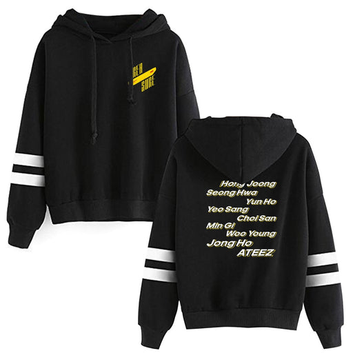 2020 ATEEZ Hooded Sweatshirts Kpop ATEEZ Hot Sale Hoodie A TEEnager Z Women Long Sleeve Pullover Hoodies casual clothes