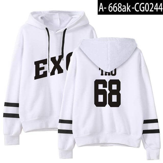 Kpop Newest 2019 Harajuku Striped Long Sleeve Hoodies Women Hip Hop Cap Sweatshirts Pullovers New Korean Fashion Kpop EXO Hoodie Sweatshirt that you'll fall in love with. At an affordable price at KPOPSHOP, We sell a variety of 2019 Harajuku Striped Long Sleeve Hoodies Women Hip Hop Cap Sweatshirts Pullovers New Korean Fashion Kpop EXO Hoodie Sweatshirt with Free Shipping.