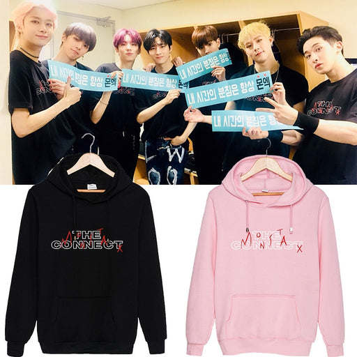 New KPOP MONSTA X Concert THE CONNECT Hoodie For Men And Women - Kpopshop