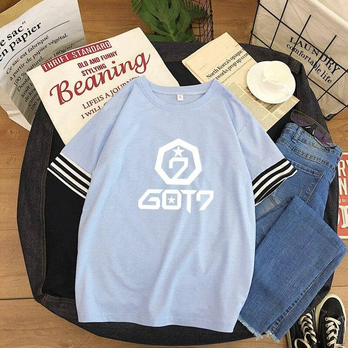 Kpop Newest 2019 cotton t shirt kpop GOT7 Japanese style small fresh round neck girl T-shirt korean kawaii Tee shirt women loose summer tops that you'll fall in love with. At an affordable price at KPOPSHOP, We sell a variety of 2019 cotton t shirt kpop GOT7 Japanese style small fresh round neck girl T-shirt korean kawaii Tee shirt women loose summer tops with Free Shipping.