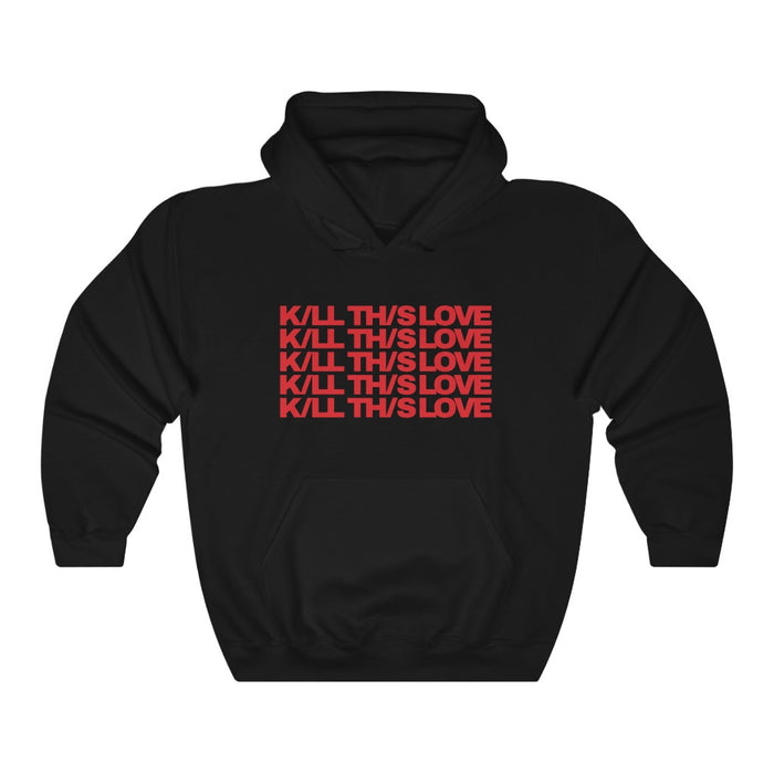 BlackPink New Kill This Love Hoodie - Blackpink Hoodies - Lisa Jennie Jisoo Rose Pullover Hoodie