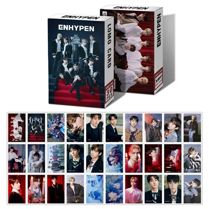 30PCS/Set KPOP ENHYPEN NCT 2020 NCT DREAM Photocard RESONANCE PT.1 New Album HD Photo LOMO Card For Fans Gift Collection