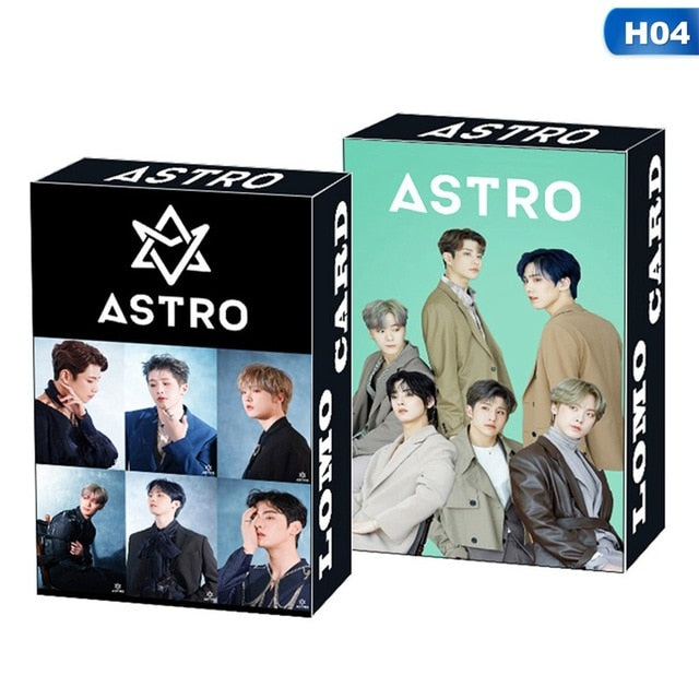 30Pcs/Box Kpop ATEEZ Astro SEVENTEEN IZONE ITZY Photocard Lomo Card Photograph Cards Fans Gift