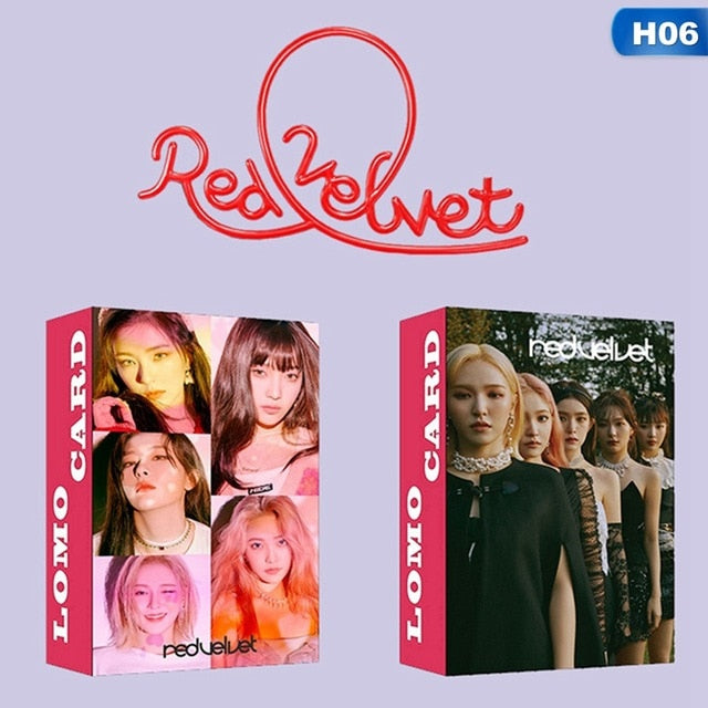 30Pcs/set KPOP ATEEZ RED VELVET MOMOLAND Photocard Lomo Card Paper Small Cards Album