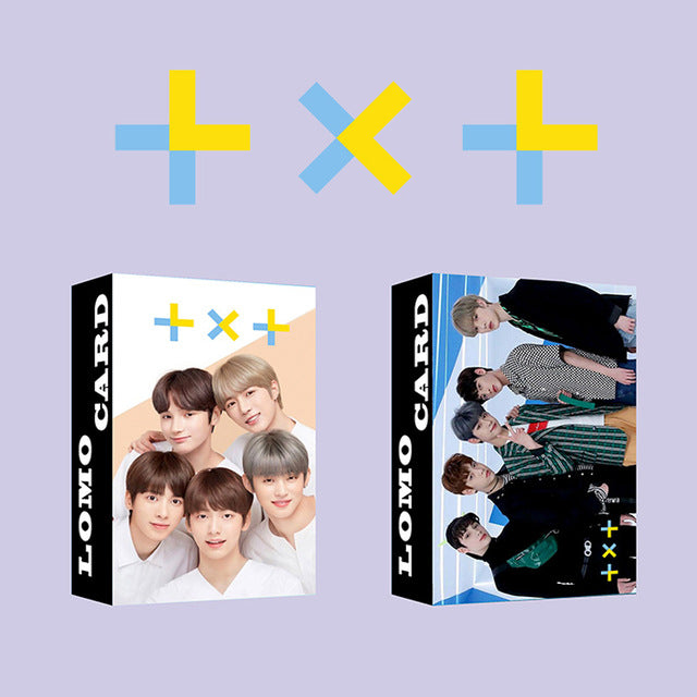 30pcs/set Kpop ATEEZ Lomo card Stray kids GOT7 TWICE TXT NCT ITZY Photocard HD photo print album photocard for fans gifts