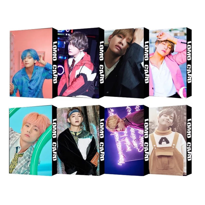 30pcs set Of The New BTS Lomo Cards of the New Album MAP OF THE SOUL 7