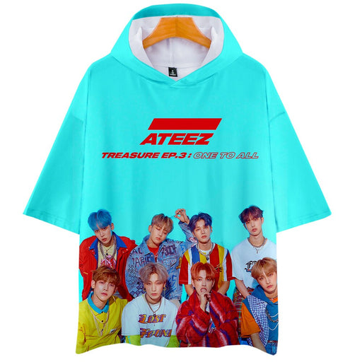 3D ATEEZ k-pops Women/Men Tshirts software T shirt - Kpopshop