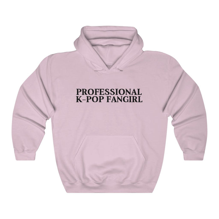 Professional K-pop Fangirl Hoodie - Trendy Winter Kpop Hoodies Kpop Fashion - Kpop Hooded Sweater
