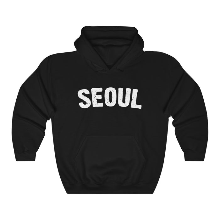Seoul Hoodie - Trendy Winter Kpop Hoodies Kpop Fashion - Kpop Hooded Sweater