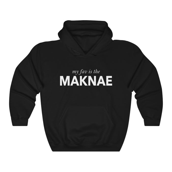 My Fav Is The Maknae  Hoodie - Trendy Winter Kpop Hoodies Kpop Fashion - Kpop Hooded Sweater