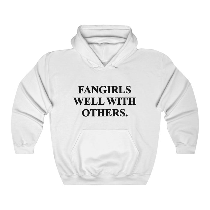 Fangirls Well With Others.Hoodie - Trendy Winter Kpop Hoodies Kpop Fashion - Kpop Hooded Sweater