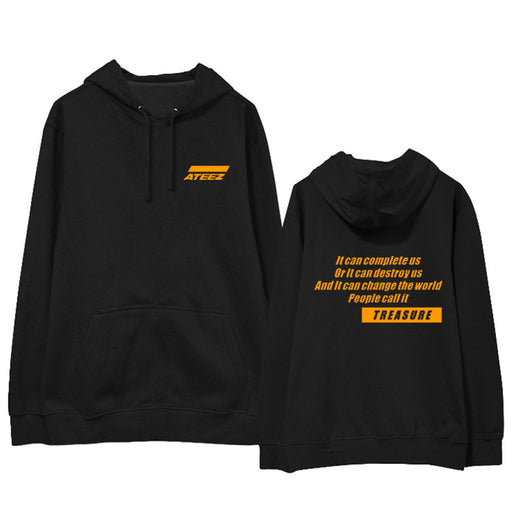 ATEEZ Kpop Hoodie Print Hooded Women Men Sweatshirts Clothes 2020 Harajuku Casual ATEEZ Hoodies Kpop Sweatshirt Kpop Clothing
