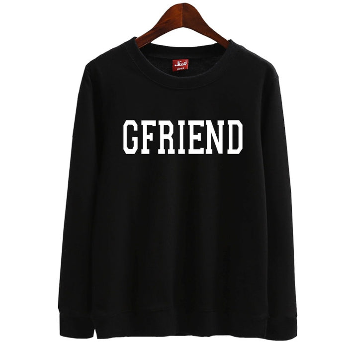 new kpop gfriend thin Sweatshirt tshirts supportive girl friend pullover hoodies - Kpopshop